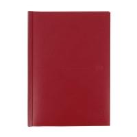 Agenda de sobremesa CLASSIC, día página de 150 x 210 mm. Color rojo