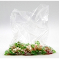 Pack de 500 bolsas de plastico 250x300 mm transparentes