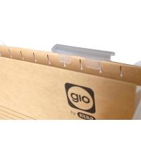Pack de 25 visoresgio By Elba para carpeta colgante