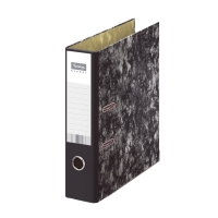 Archivador de palanca LYRECO Budget Folio lomo de 70mm jaspeado
