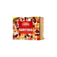 Caja de galletas CUÉTARA surtido 520g