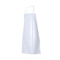Delantal de PVC con peto VELILLA blanco