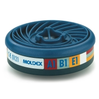 Caja de 10 filtros tipo ABEK1 protección Gas & Vapor MOLDEX 9401