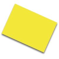 Pack de 25 cartulinas FABRISA 50x65 170g/m2 color amarillo