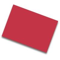 Pack de 25 cartulinas FABRISA 50x65 170g/m2 color rojo
