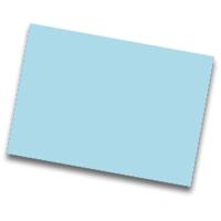 Pack de 25 cartulinas FABRISA 50x65 170g/m2 color azul