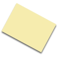 Pack de 25 cartulinas FABRISA 50x65 170g/m2 color crema