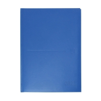 Agenda de sobremesa CLASSIC, día página de 150 x 210 mm. Color azul