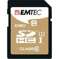 Tarjeta de memoria EMTEC Gold Plus SDHC de 8 Gb