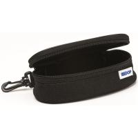 Funda con mosquetón y cremallera para gafas MEDOP color negro