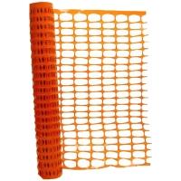 Malla de señalización JULIO GARCIA polietileno color naranja 1 m x 50 m