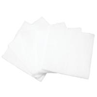 Paquete de 5 compresas esterilizadas de gasa hidrófila de algodón de 75 x 75 mm