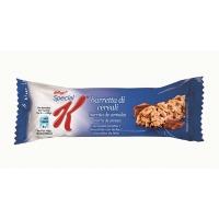 Caja de 30 barritas de cereales con chocolate y leche KELLOGS SPECIAL K 20g