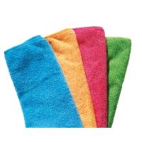 Pack de 4 bayetas 100% microfibra VILEDA Easy Microtex4 colores surtidos