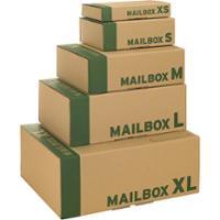 Pack de 20 cajas postales tamaño S 244x148x38 mm