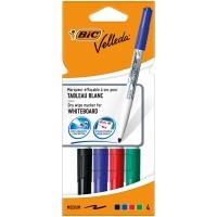 Pack de 4 marcadores para pizarra blanca Velleda 1741 1,5mm