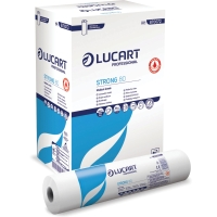 Pack de 6 rollos de papel de camilla antibacteriano LUCART de 59cm x 80m