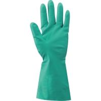 Par de guantes RUBBEREX RNF 15 nitrilo color verde talla 7