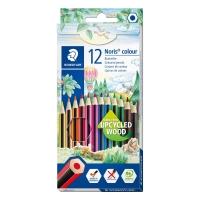 Pack 12 lápices STAEDTLER Noris Colour 185 colores surtidos