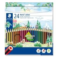 Pack 24 lápices STAEDTLER Noris Colour 185 colores surtidos