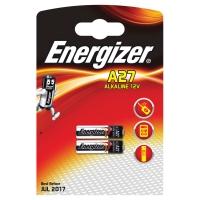 Pack de 2 pilas alcalinas de botoón 12V A27 ENERGIZER