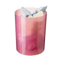 Papelera 17 l rosa translúcido ARCHIVO 2000  Dimensiones: 336x260mm