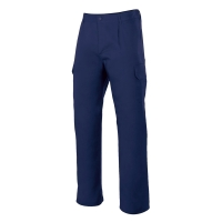Pantalón multibolsillos VELILLA 345 color azul marino talla 44