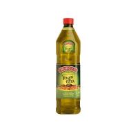Botella de aceite de oliva virgen extra de 1 litro