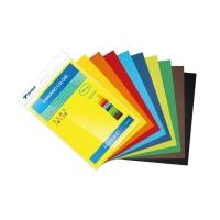 Pack de 10 cartulina SADIPAL SIRIO A4 170g/m2 colores surtidos