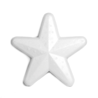 Pack de 10 estrellas de porexpan 100 mm