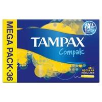Pack de 39 tampones TAMPAX COMPAK regular
