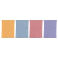 Agenda de sobremesa MODERN, día página de 150 x 210 mm. Colores surtidos