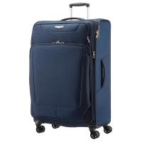 Tejido resistente para equipaje TROLLEY SAMSONITE SPARK azul oscuro 48x79x31 cm