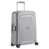 Tejido resistente para equipaje TROLLEY SAMSONITE SCURE plata 40x55x20 cm