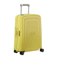 Tejido resistente para equipaje TROLLEY SAMSONITE SCURE amarillo 40x55x20 cm