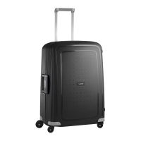 Tejido resistente para equipaje TROLLEY SAMSONITE SCURE negro 52X75X31 cm