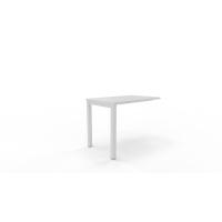 Ala rectangular NOVA con medidas 100x60x75cm blanco blanco