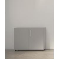 Armario con puerta con medidas 70x45x90cm gris gris