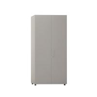 Armario con puerta, medidas 195x45x90 cm gris gris