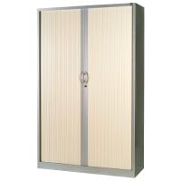Armario de puesta de persiana con 4 estantes 198x100x45cm roble aluminio