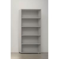 Estante de 4 estanterias con medidas 195x45x90cm gris gris