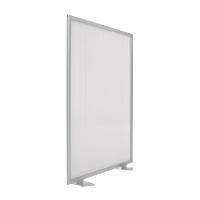 Mampara modular screen fabricada en aluminio 120x100 cm gris