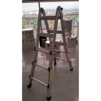 Escalera ZARGES global STAR telescopica de alumio 4x4xm