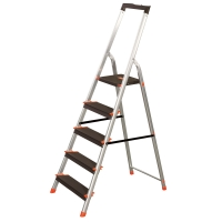 Escalera ZARGES domestica de aluminio de 8 peldaños