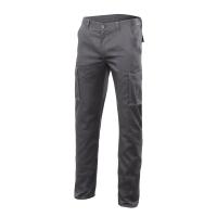 Pantalón multibolsillos VELILLA Stretch 103002S de 240 g/m2. Color gris.Talla 42