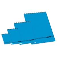Block de hojas no microperforadas Formato 8º, color azul