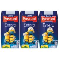 Pack de 18 bricks de leche PASCUAL entera de 200ml