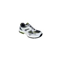 Zapatos de seguridad PANTER Gym S1P de microfibra en color blanco. Talla 42