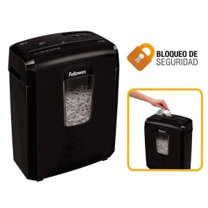 DESTRUCTORA FELLOWES 8CD DE CORTE EN PARTÍCULAS