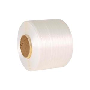 Pack de 2 fejes de poliéster tejido 13 mm blanco HOTMELT